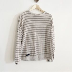 Southern Marsh Striped Crewneck Pullover
